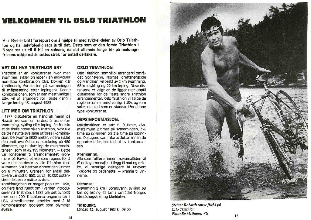 Oslo Triathlon 1983