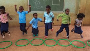 Play Based Learning at Mafuiane School (Maputo, Mozambique).